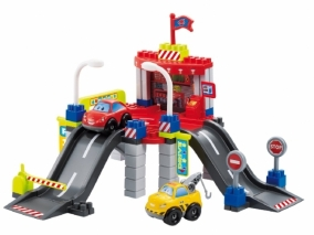 Ecoiffier - Детски строител City Гараж с автосервиз 3047