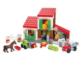 Ecoiffier - Детски строител Ферма 3044