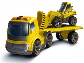 Silverlit - Автовоз с булдозер с дистанционно управление 371043